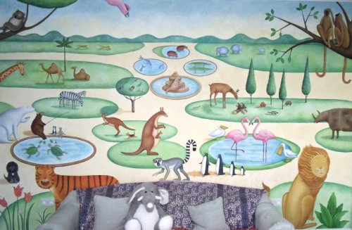 childrens mural
