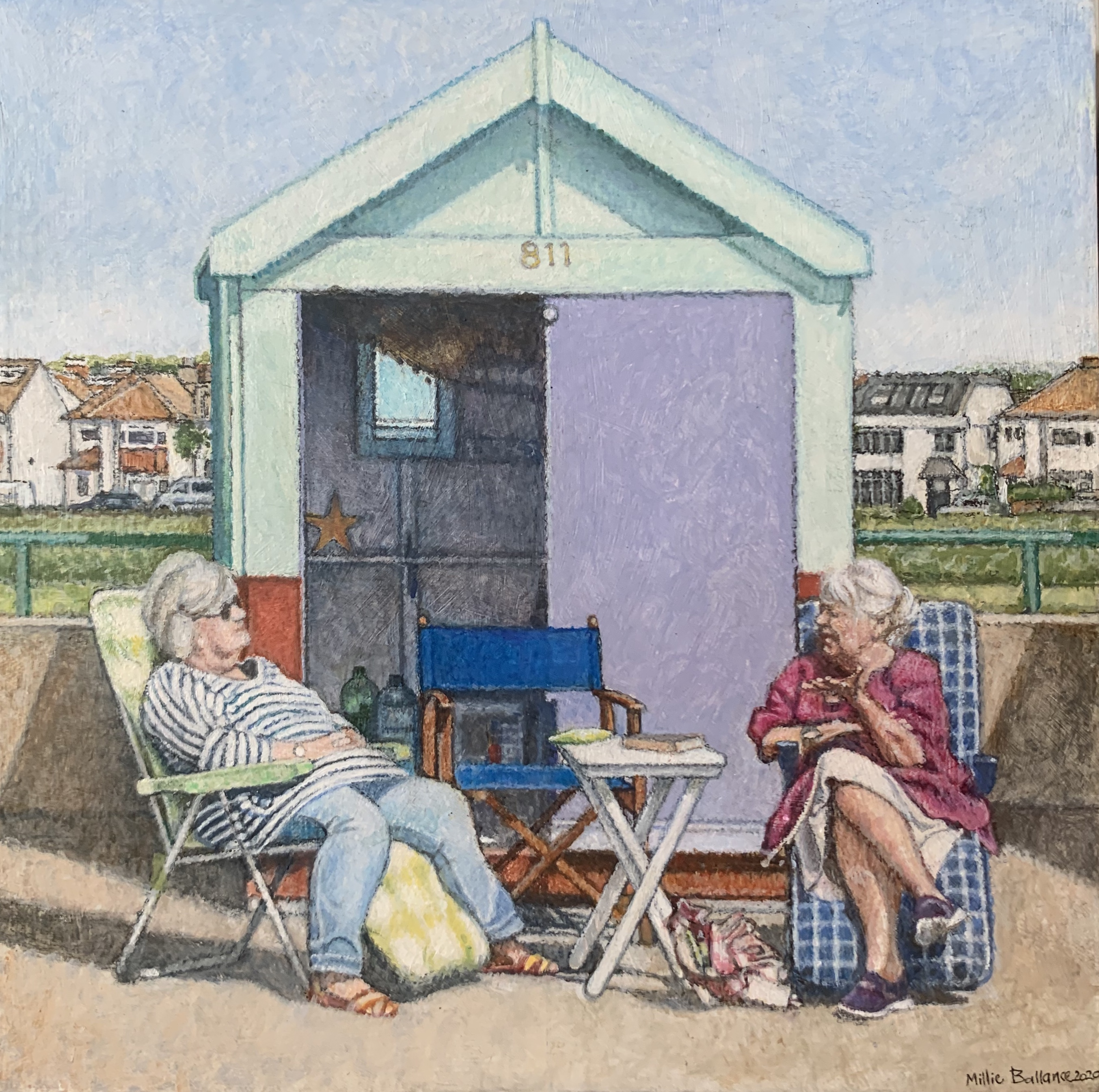 """Seafront 6""""x6"""""""