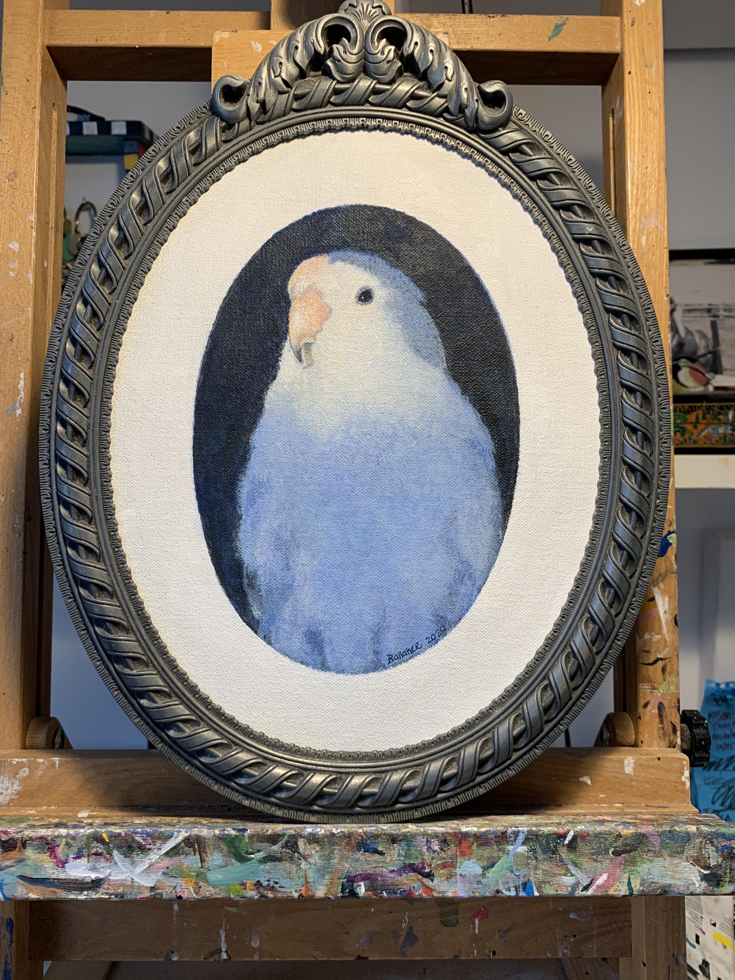 "Portrait of Romeo 8"" oval"