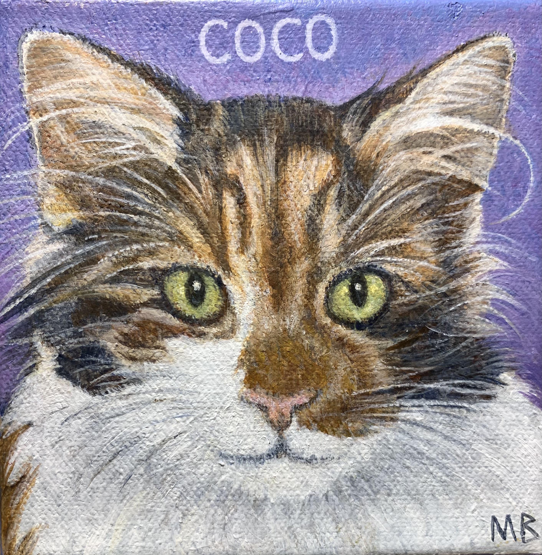 """Coco 6""""x6"""""""